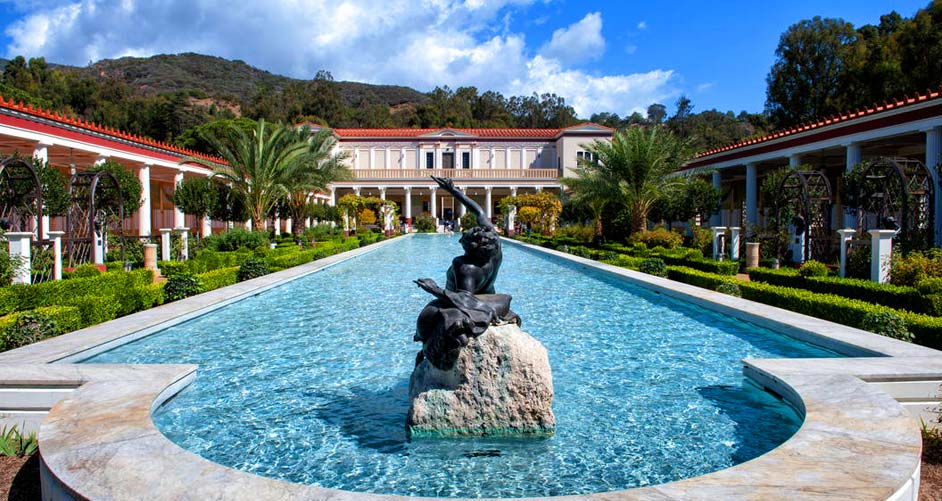 The Getty Villa Art Museum, Los Angeles